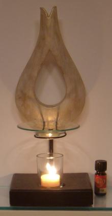 Duftlampen-per Hand gemachte Holzduftlampe aus Bali