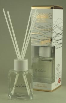 Aromasticks 4-Eck Flaschen-De Luxe mit Keramikaufsatz und Baumwollstäbchen